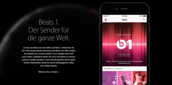 Apple продвигает Beats 1, но Apple Музыка предлагает намного больше функций