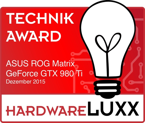 Hardwareluxx-Award ASUS ROG Matrix GeForce GTX 980 Ti