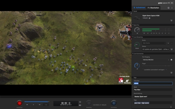 how to use elgato game capture hd60