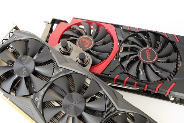 Разные концепции GeForce GTX 980 Ti
