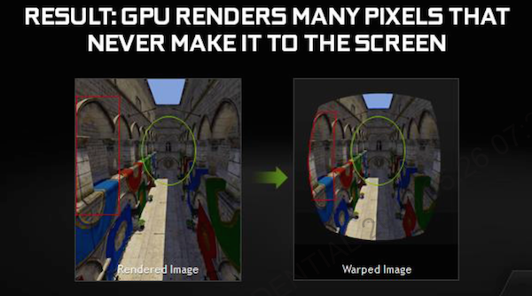 NVIDIA GameWorks VR mit Multi Resolution Shading