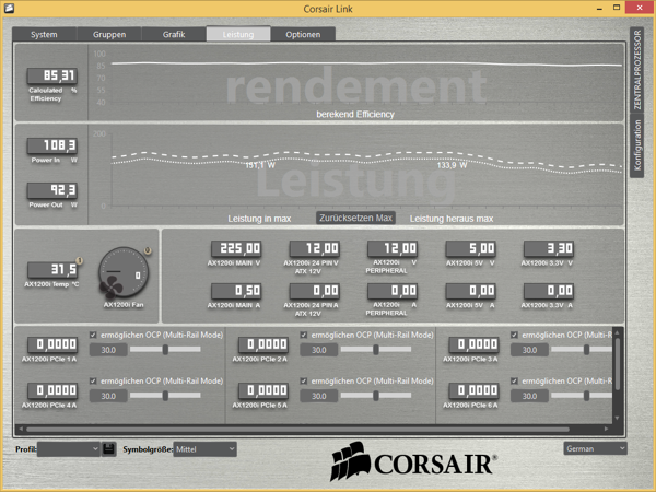 Corsair Link Software