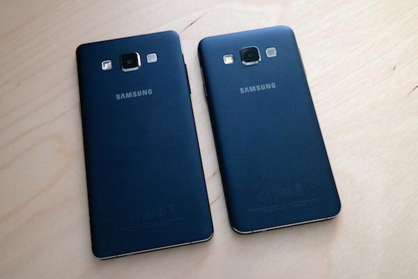 Один дизайн, два размера: внешний вид смартфонов Samsung одинаковый