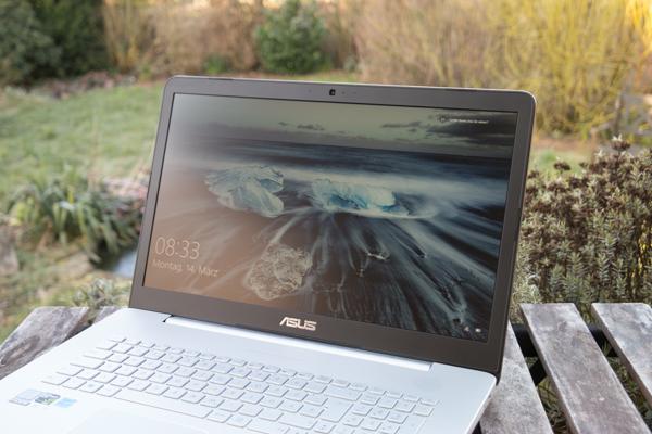 VivoBook Pro N752VX: яркий дисплей с хорошей контрастностью, но не совсем равномерная подсветка