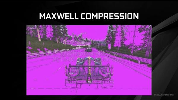 Цветовая дельта-компрессия архитектуры Pascal