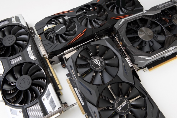 5x GeForce GTX 1080 im Test
