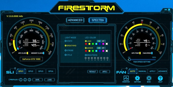 Zotac Firestorm Software