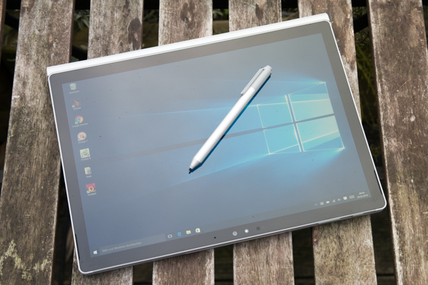 The Surface Pen is included and also provides a real added value
