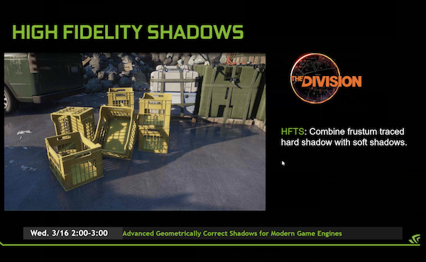 NVIDIA GameWorks 3.1 - High Fidality Shadows