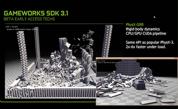 NVIDIA GameWorks 3.1 - NVIDIA Rigid Body Dynamics
