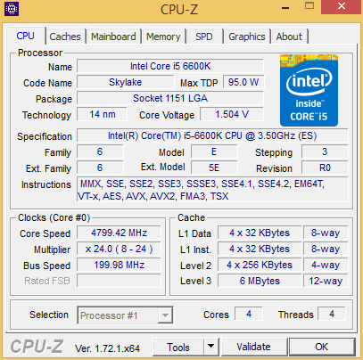 cpuz6600OC