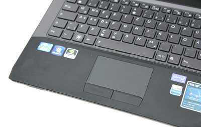 ASUS G53SW Touchpad