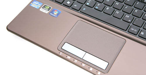 ASUS K53S Touchpad