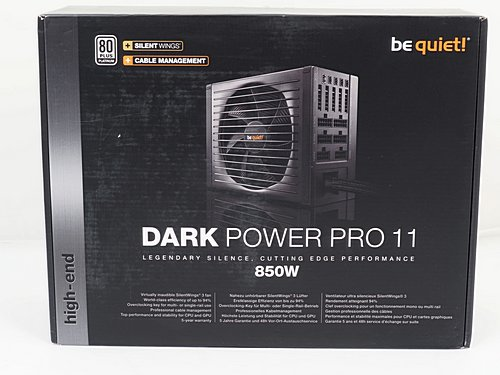 Der Karton des be quiet! Dark Power Pro 11 850W