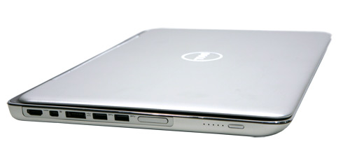 Dell XPS 15z Seite links