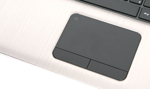 HP Pavillion dv7 Touchpad