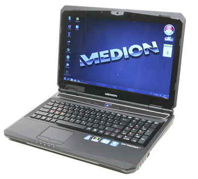 Medio Erazer X6813 Display