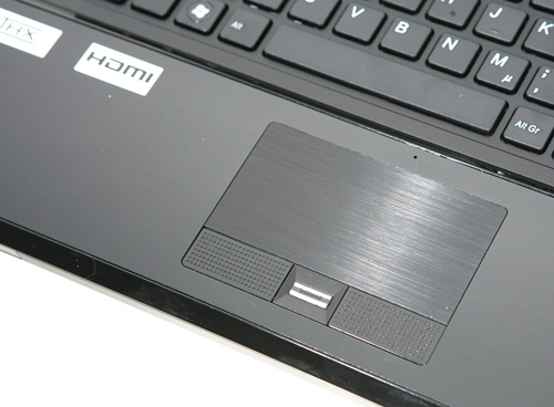 Schenker Notebooks P701 Touchpad