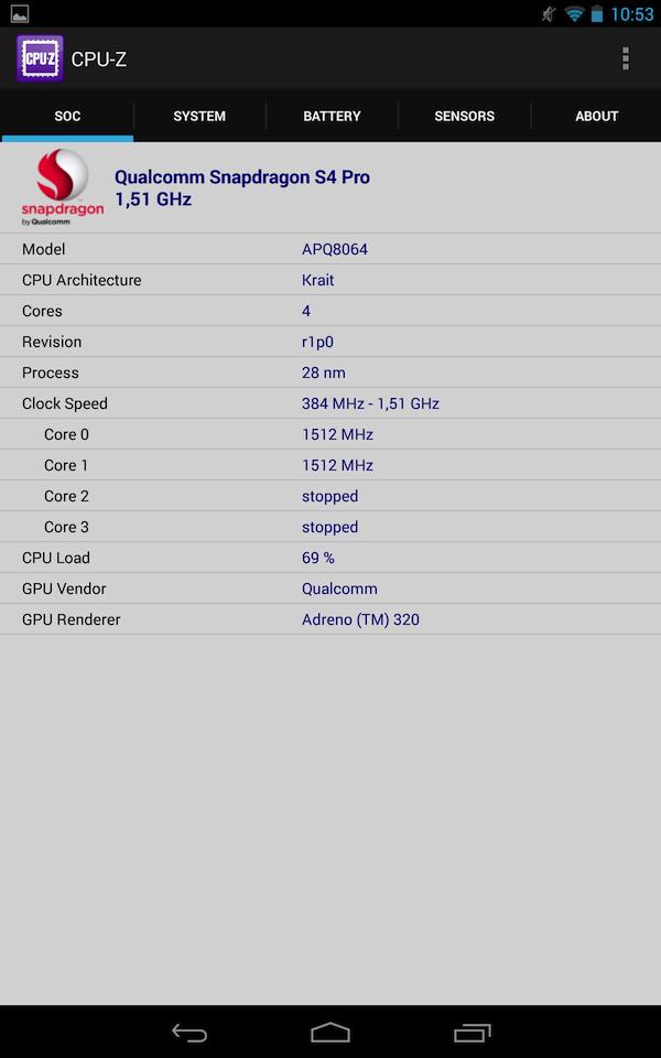 Qualcomm Snapdragon S4 Pro на основе Snapdragon 600