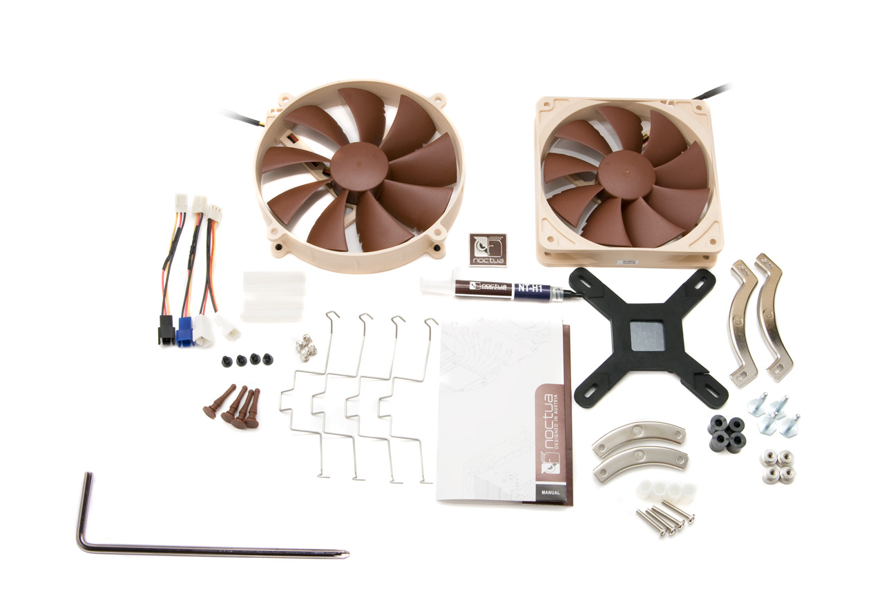noctua nh d14 zur ck zur spitze hardwareluxx. Black Bedroom Furniture Sets. Home Design Ideas