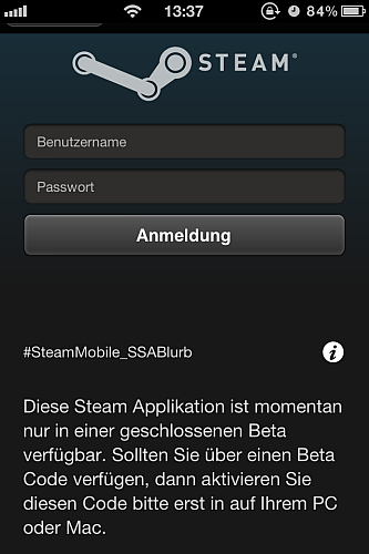 Steam iPhone2