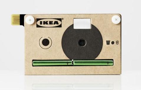 kn ppa ikea stellt digitalkamera aus pappe vor hardwareluxx. Black Bedroom Furniture Sets. Home Design Ideas