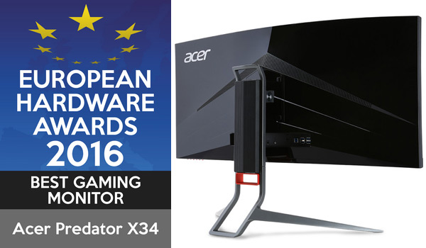 10 Best Gaming Monitor Acer Predator X34