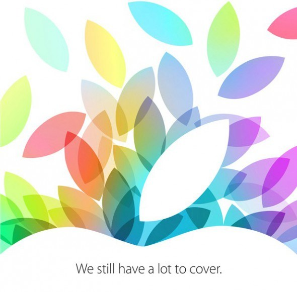 apple event 22 10 2013