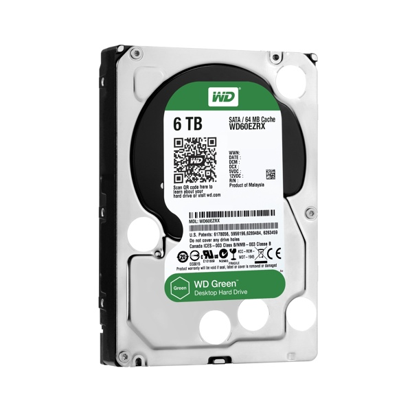 Western Digital Green mit 6 TB
