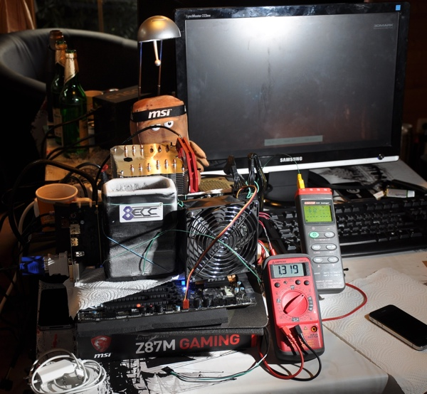 MSI GeForce GTX 780 Ti Lightning in der Bench-Session (Bilder-Galerie)