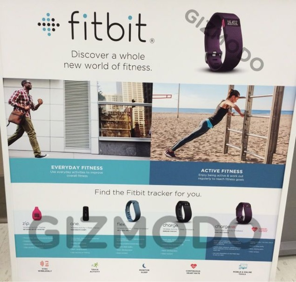 Fitbit Charge und Charge HR Marketing-Material