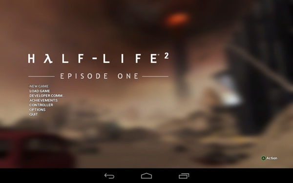 Half-Life 2: Episode One auf dem NVIDIA Shield Tablet