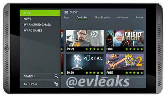 Mögliches NVIDIA Shield Tablet