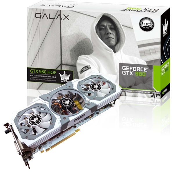 Galax GeForce GTX 980 HOF Duck Edition