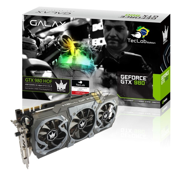 Galax GeForce GTX 980 HOF TecLab Edition