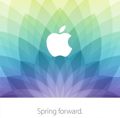 Apple-Einladung zum Event zur Apple Watch