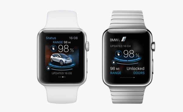 Apple Watch App von BMW