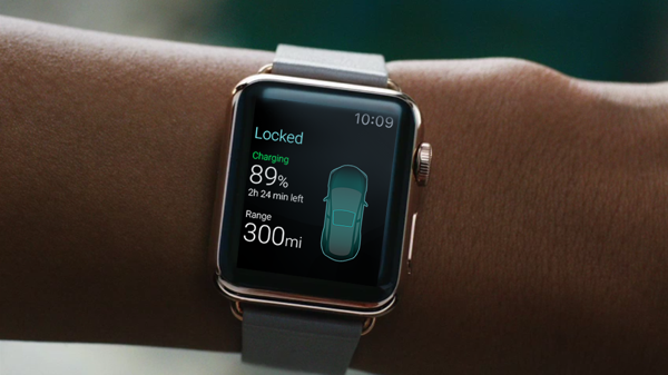 Apple Watch App von Volkswagen