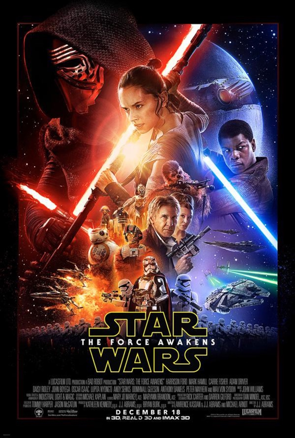 Offizielles Filmposter zu Star Wars: The Force Awakens