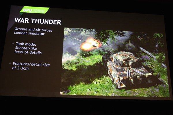 NVIDIA GameWorks in War Thunder