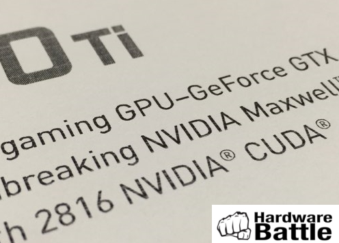 Marketing-Material zur GeForce GTX 980 Ti (Bild: Hardware Battle)