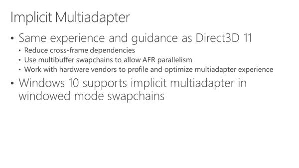 Презентация EMA в DirectX 12
