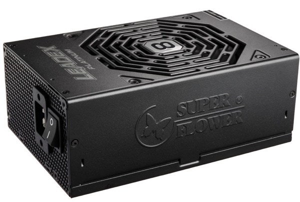 Super Flower Leadex Platinum 2000 W 8Pack Edition