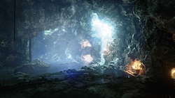 VXGI in der Cave-Demo zur Unreal Engine 4