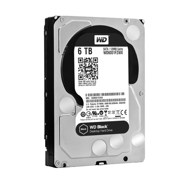 Western Digital Black mit 6 TB