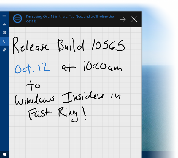Windows 10 Insider Preview Build 10565
