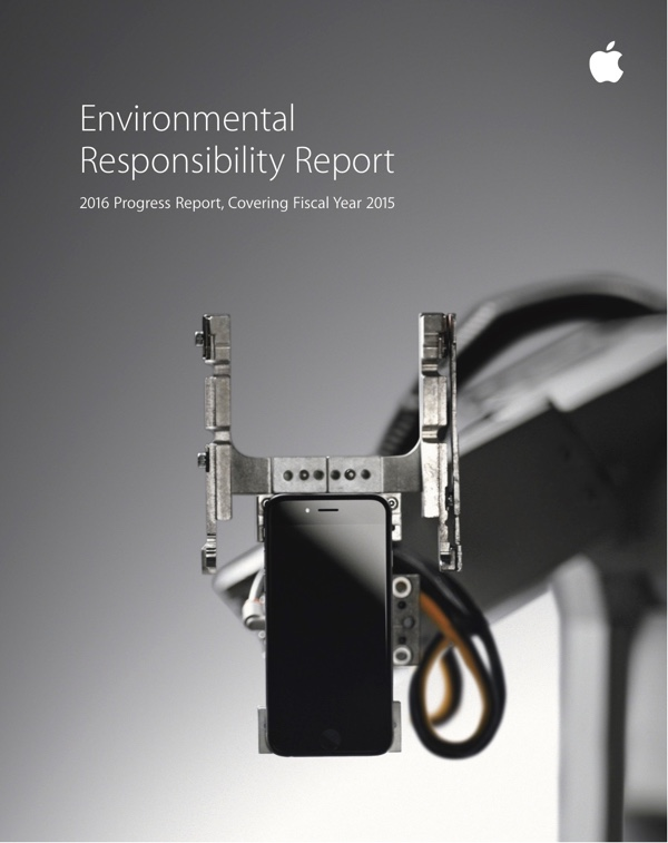Apple Environmental Responsibility Report 2016