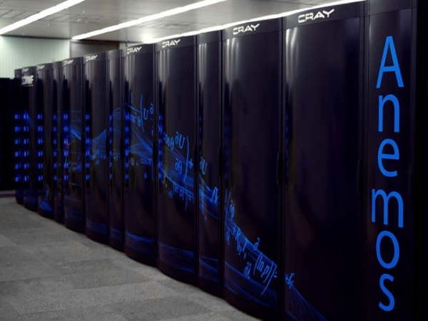 Cray-Supercomputercluster am ECMWF