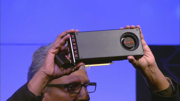 Raja Koduri von AMD mit der Radeon RX 480