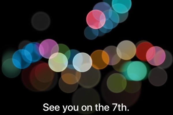 Einladung zum Apple-Event am 7. September